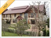 Luxury home with pool for sale in Vientiane Laos