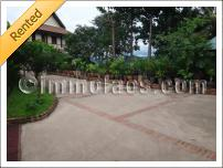 Splendid home for sale on the river in Luang Prabang Laos