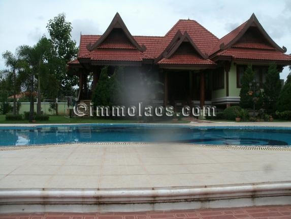 House with swimming pool for rent in vientiane laos property for sale and rent in laos for House with swimming pool for rent