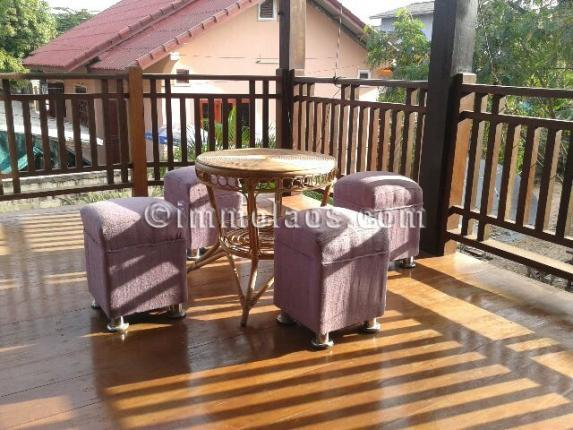 House for sale in Vientiane Laos-balcony