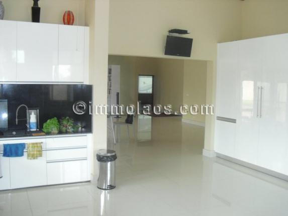 House for sale in Vientiane LAOS-kitchen